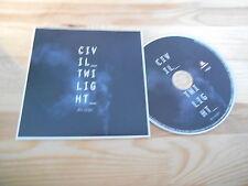 CD Pop Civil Twilight - Fire Escape (3 Song) Promo WIND-UP / MEMBRAN cb