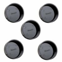 5pcs Rear Lens Cap Cover for Leica L39 M39 39mm Screw Mount Black