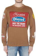 DIESEL Distressed Printed Sweatshirt BNWT