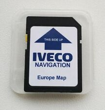 IVECO Iveconnect 2020 Q2 Navigation SD Card Europe Stralis Hi-Way XP Daily NEW!!...