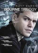 The Bourne Trilogy 1 2 3 (DVD, 2016, 3-Disc Set) Matt Damon NEW