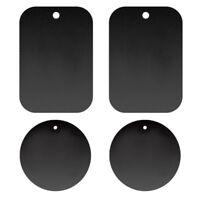 4pcs Self-Adhesive Mobile Phone Magnetic Car Mount Holder Metal Plate Sticker