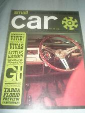 Small Car May 1965 Ginetta G4 1500, Fiat 1500 vs Simca 1500