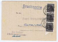Bizone/Band-Netzaufdruck,Mi. 36I MeF Mosbach, 19.7.48, Faltbrief