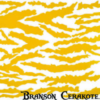 Predator Camo Rifle Stencil | High Heat Vinyl | Gun Firearm Cerakote Duracoat