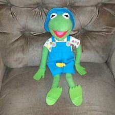Vintage Kid Dimension KERMIT the Frog Plush Summer Shirt Shorts Bucket Hat 1984