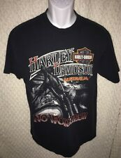 Harley Davidson No Worries Australia size adult Medium, pre-owned