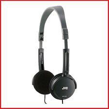 JVC HA-L50 NOIR Pliable Léger Stylish écouteurs stéréo / Tout Neuf