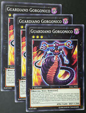 Set 3X GUARDIANO GORGONICO  LVAL-IT051 Xyz Comune in Italiano YUGIOH