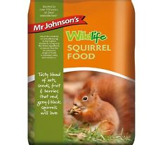 SQUIRREL FOOD - (900g) - Mr Johnsons Wild Life bp Red Grey Black Feed vf Fruit g