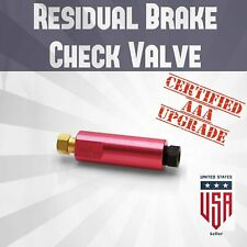 Universal Upgrade Residual Brake Check Valve 10lb fatlace frs d16 disc/drum vk