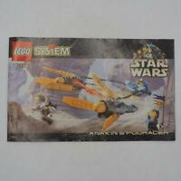 Lego 7131 Star Wars Anakin's Podracer Instruction Manual