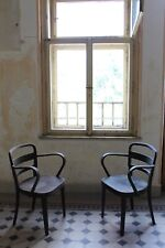 Pair B-47 Desk dinning Chair from Thonet, 1920s