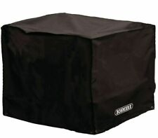 More details for bosmere large square firepit cover - black polyester 84cm d775