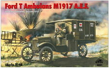 FORD T AMBULANCE - WW I AMERICAN EXPEDITIONARY FORCES (FRANCE 1918) 1/48 RPM
