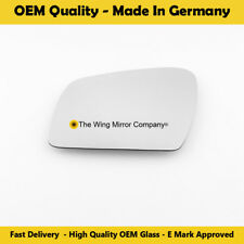 Left Side Covex Wing Mirror Glass For Kia Soul Fits to reg 2009 To 2013