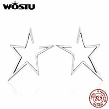Wostu Newest Design Modern Star-Light Earring 925 Sterling Silver Nickel-Free