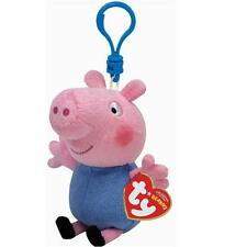 Ty Beanie Babies 46132 Peppa Pig George Key Clip