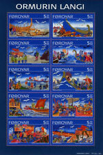 Faroe Islands 2006 Sea Battle, The Long Serpent Ballad, Ormurin Langi, MNH / UNM