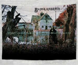 Black Sabbath tapestry cloth poster room bedspread wall art