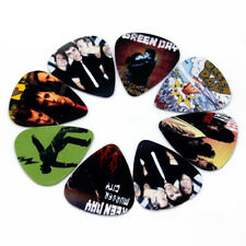 10 Greenday Band Guitar Picks Accessories ABS Plectrums Bundle Lot Spare .71mm