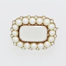9 Carat Pearl Brooch/Pin Victorian Fine Jewellery