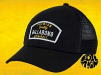 New Billabong Shifter Mens Black Snapback Trucker Cap Hat