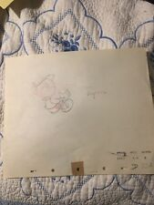 1940 RARE WALT DISNEY PINOCCHIO (cel?)ORIGINAL PRODUCTION ANIMATION DRAWING