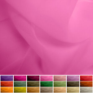 """100% Pure Silk fabric Georgette - 8 momme - Multiple Colours - 45"""""""