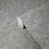 Wallpaper rustic gray faux vintage textile Textured Plain Modern wallcoverings