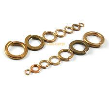 100 Pieces M4 Brass Spring Washer