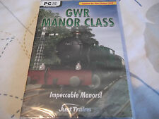 GWR MANOR CLASS PC DVD-ROM NEW SEALED ( expansion for train simulator 2013 )