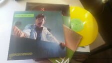 DEVO Q: Are We Not Men A: We are '78 UK lp yellow color vinyl +2 posters! v2106!