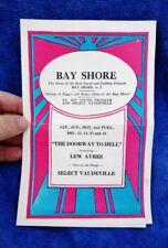 1930 BAY SHORE THEATRE, Vintage Show Program Pictures VAUDEVILLE, Long Island NY