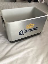 Mini Corona Stainless Steel Beer Cooler - Great for Beach Parties