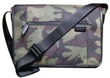 DESIGNER MICHAEL KORS CAMOUFLAGE GREEN MESSENGER BAG CROSS BODY CASE TRAVIS NEW