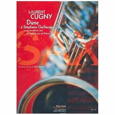 Laurent Cugny Dune a Guillame Saxaphone Drums Jazz Solo Sheet Music Score#37B132