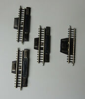 Märklin mini-club - 3x 8599 +1x 8588 - 3 Schaltgleise + 1 Trenngleis