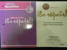 En Espanol Level 3 Mas Practica Cuaderno McDougal Littell + Lesson Review Bookma