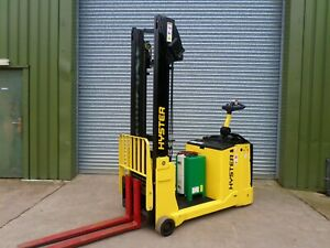 forklift/fork lift forktruck HYSTER COUNTER BALANCE STACKER  340 HOURS FROM NEW