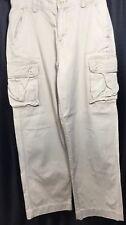 Polo Ralph Lauren Boys Size 14 Khaki Cargo Pants 100% Cotton