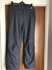 Mesdames gris ski pantalon taille L de Columbia Sportswear-Bon état