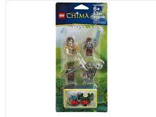NIP Lego Chima BATTLE PACK 4 mini figures Crug Grumlo Longtooth Wilhurt Sealed
