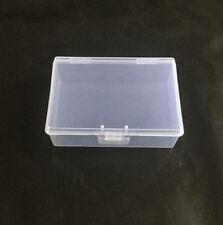 Plastic Storage Box Small Transparent  clear Square Multipurpose display box B