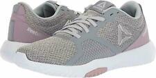 Reebok Flexagon Force Women's Training Shoe Sneakers Cold Grey/Lilac Fog Size 8