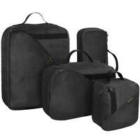 Wisport PackBox Set of 4 Pouches Handle Travel Bags Army Organiser Cordura Black