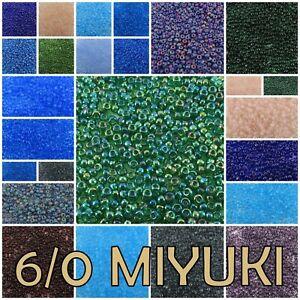 6/0 20 g Miyuki Round Seed Beads #147-190