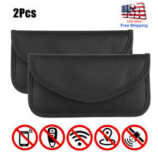 Faraday Bag Rfid Signal Blocking Shielding Pouch Cell Phone Wallet Case Blocker