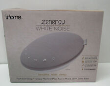 Sleep Therapy Sound Machine White Noise Sound Therapy Portable iHome Zenergy New