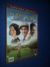 cofanetto+DVD nuovo film Bobby Jones - Il genio del golf con Jim Caviezel